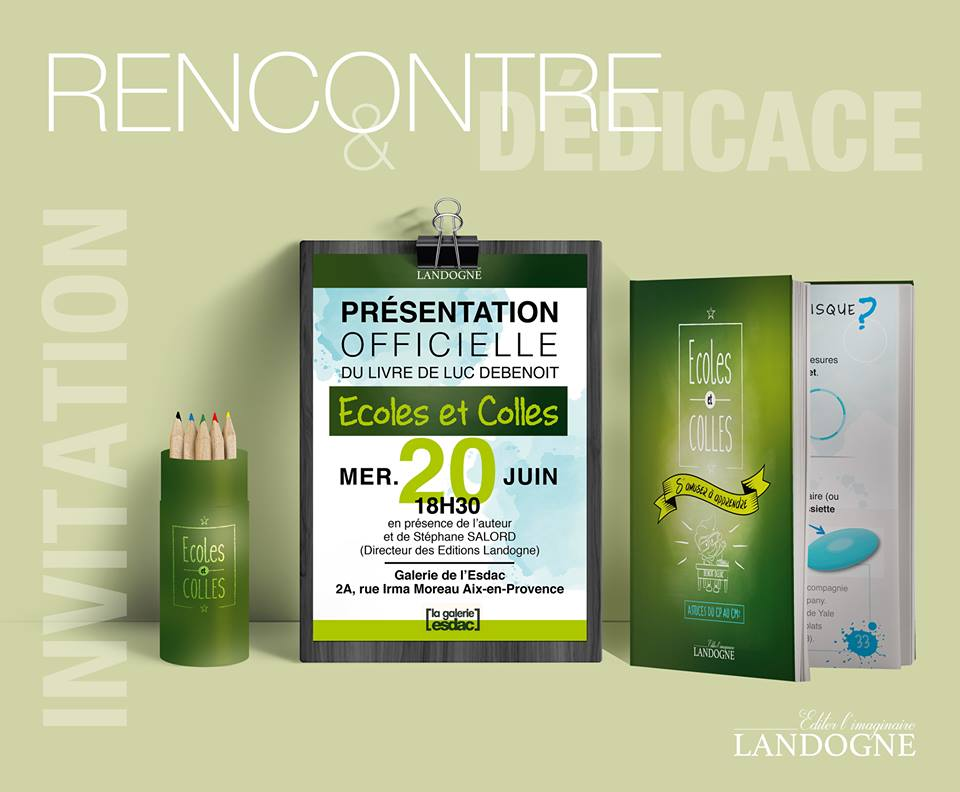 Présentation du nouvel ouvrage des Editions Landogne